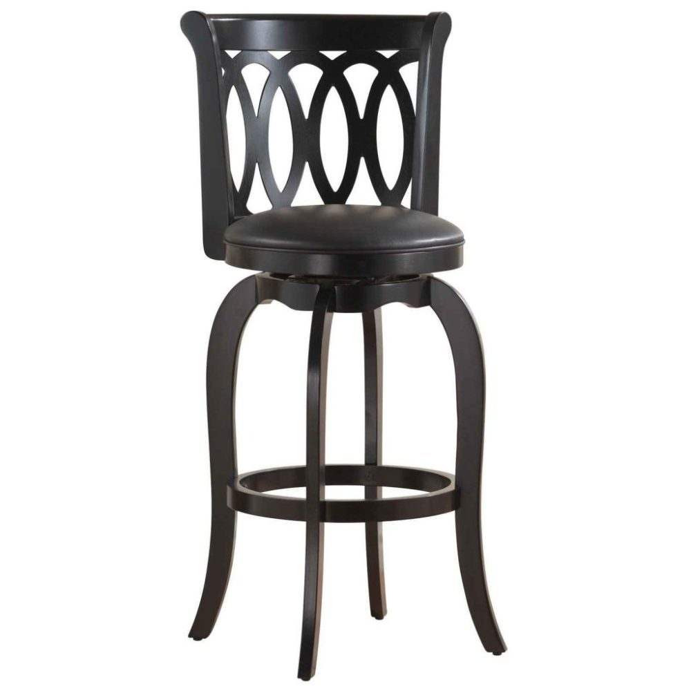 24 Wood Saddle Bar Stools
