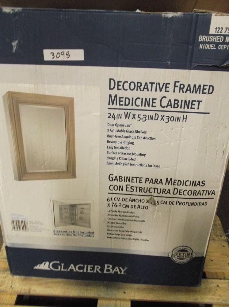 24 X 30 Framed Medicine Cabinet