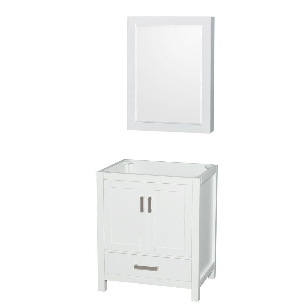 30 Inch Medicine Cabinet White