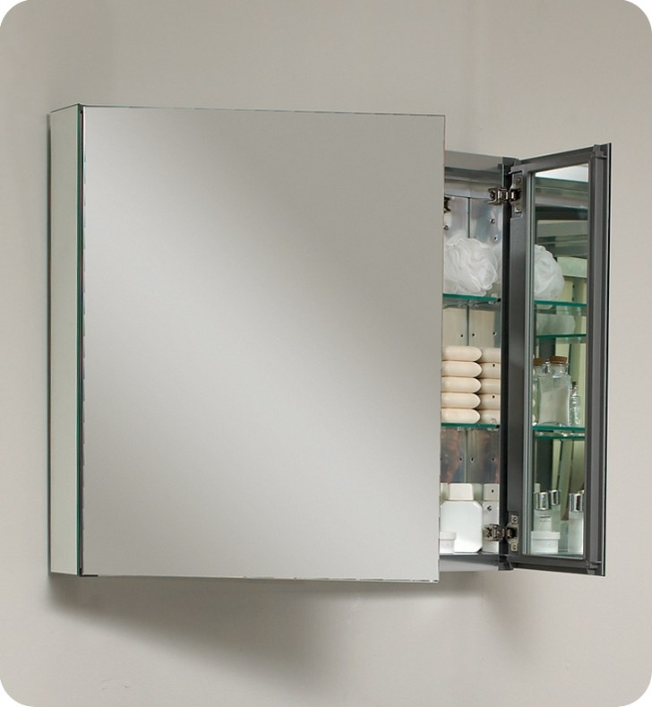 30 Recessed Mirrored Medicine Cabinets