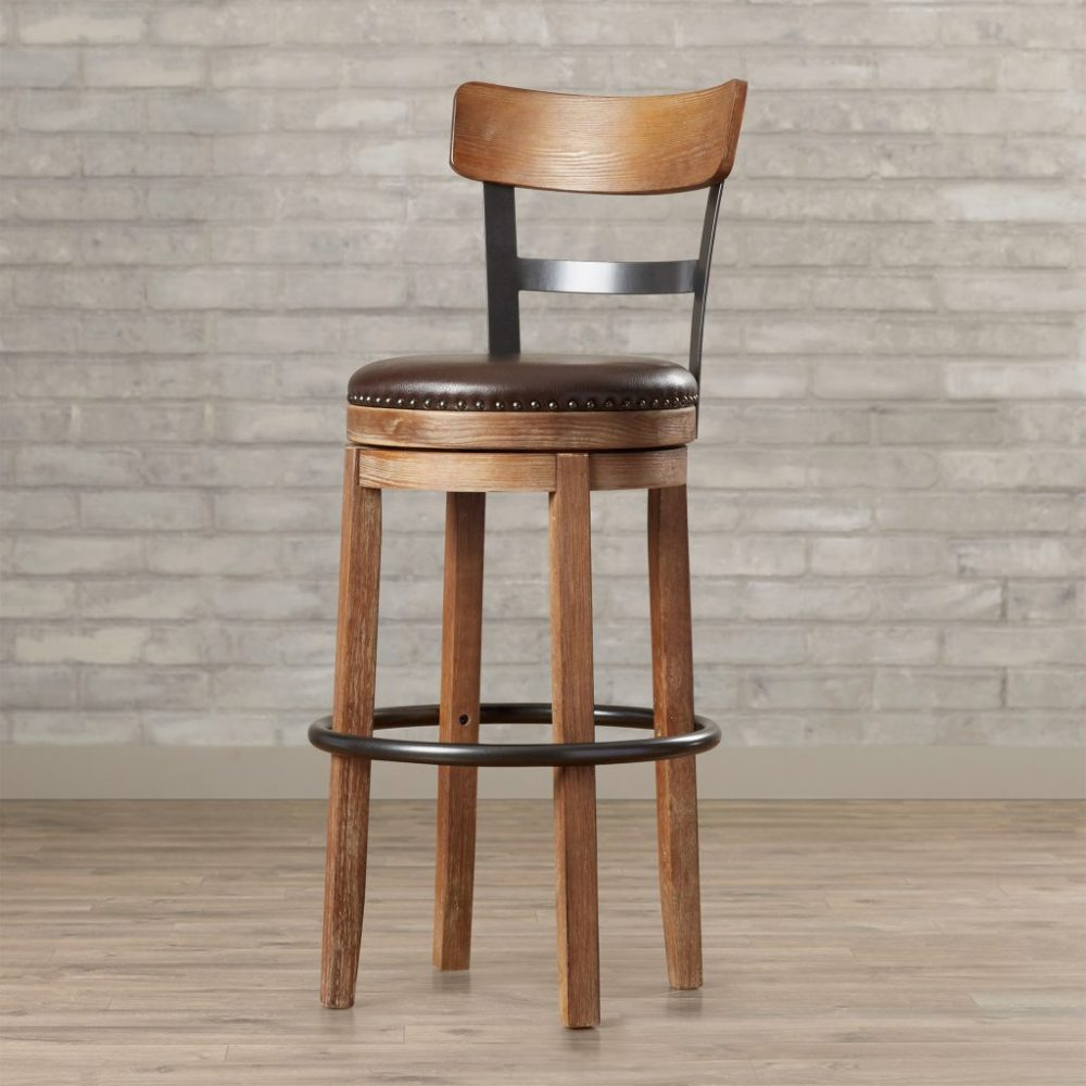30 Swivel Bar Stools With Back And Arms