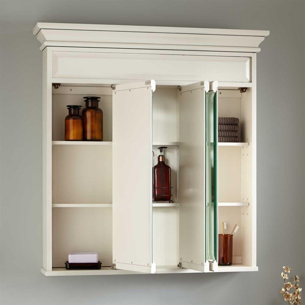 36 White Medicine Cabinet