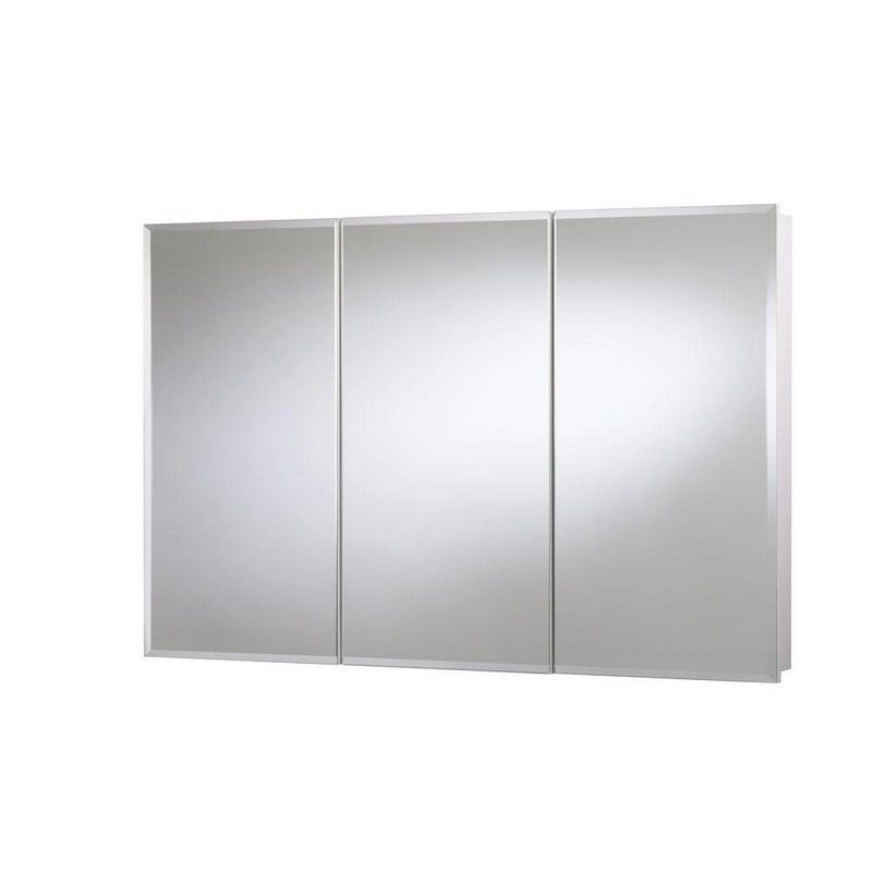 48 In. Surface Mount Mirrored Medicine Cabinet