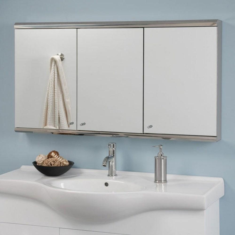 48 Tri Mirror Medicine Cabinet