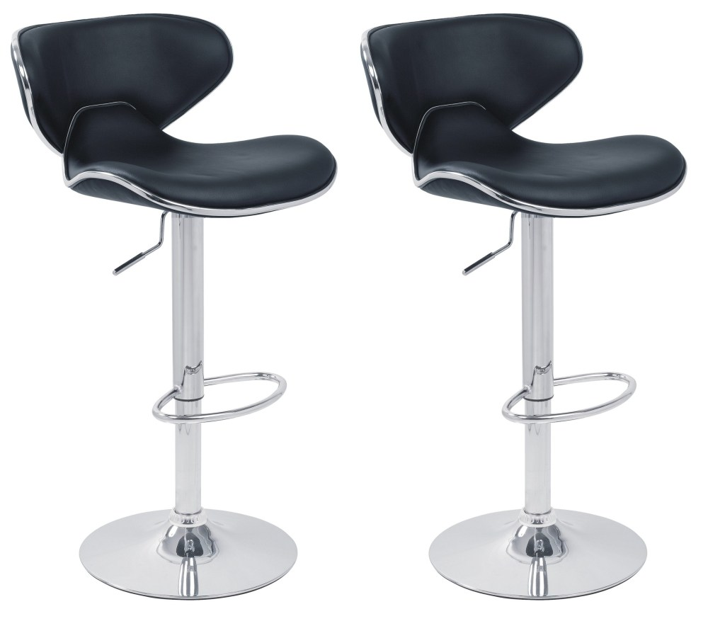 Adjustable Bar Stools Leather