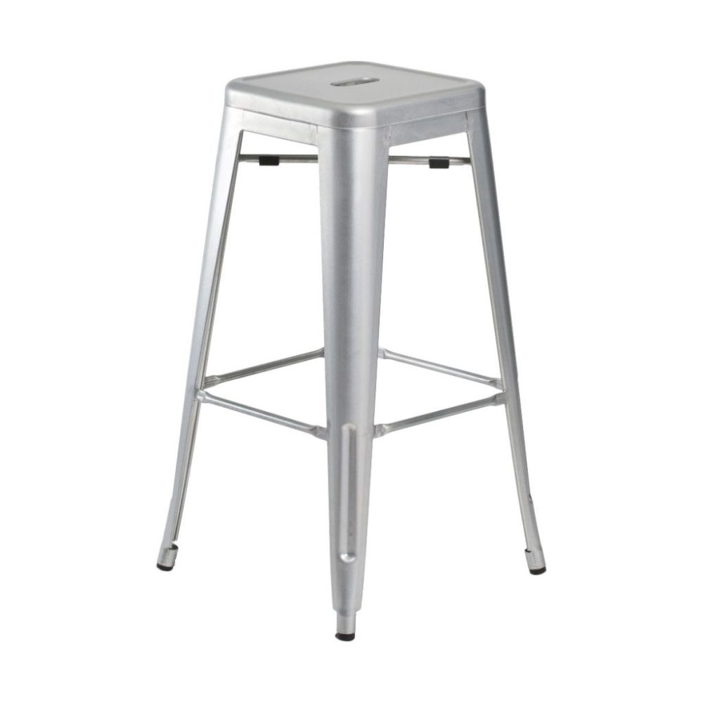 Adjustable Height Industrial Bar Stools