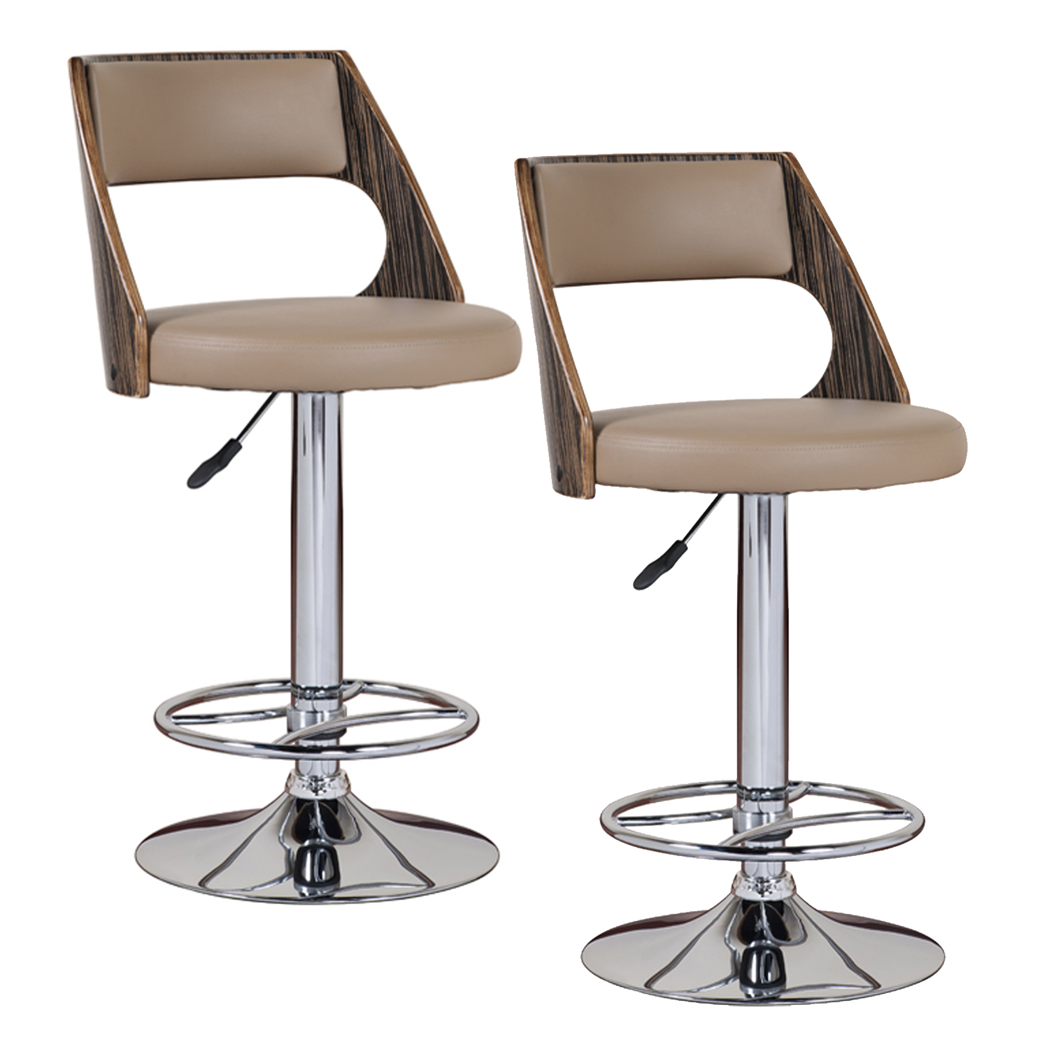 Adjustable Swivel Bar Stools