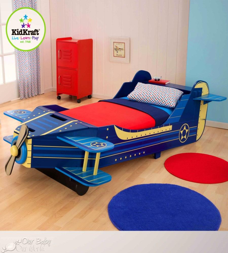 Aircraft Toddler Bed