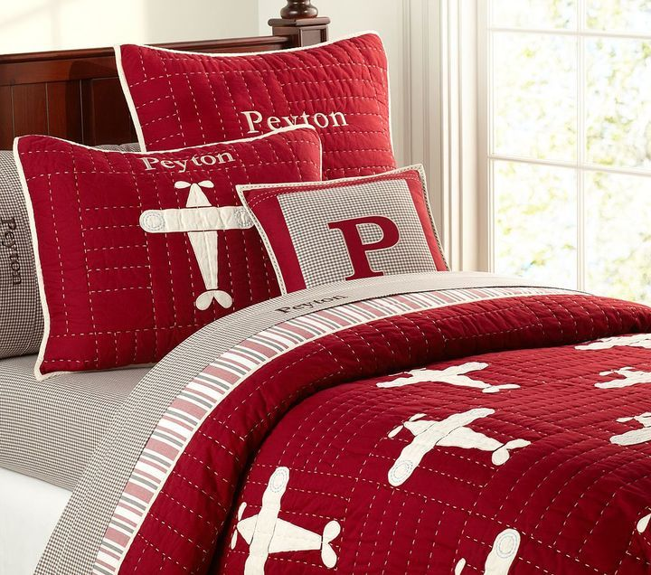 Airplane Childrens Bedding
