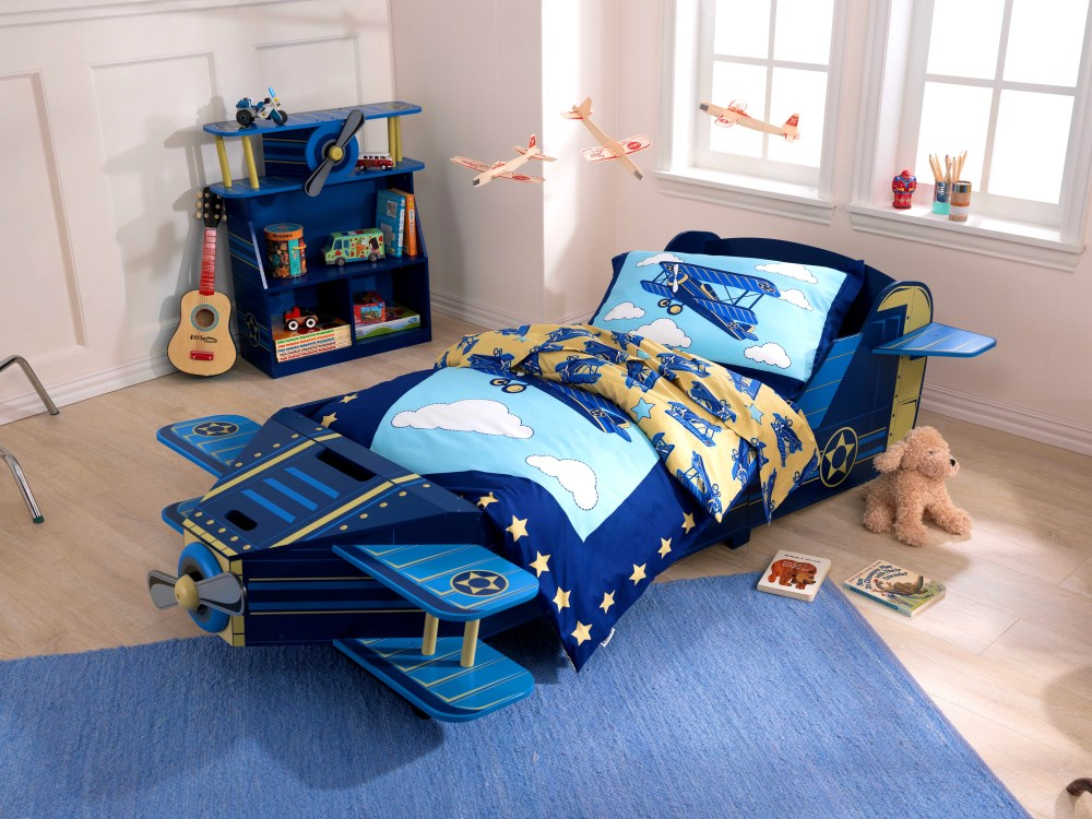 Airplane Toddler Bed Frame