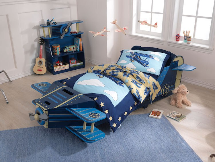 Airplane Toddler Bed Kidkraft