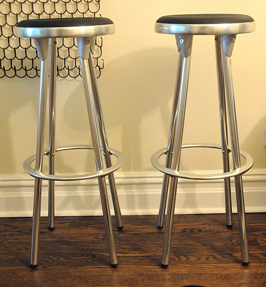 Aluminum Bar Stools Counter Height