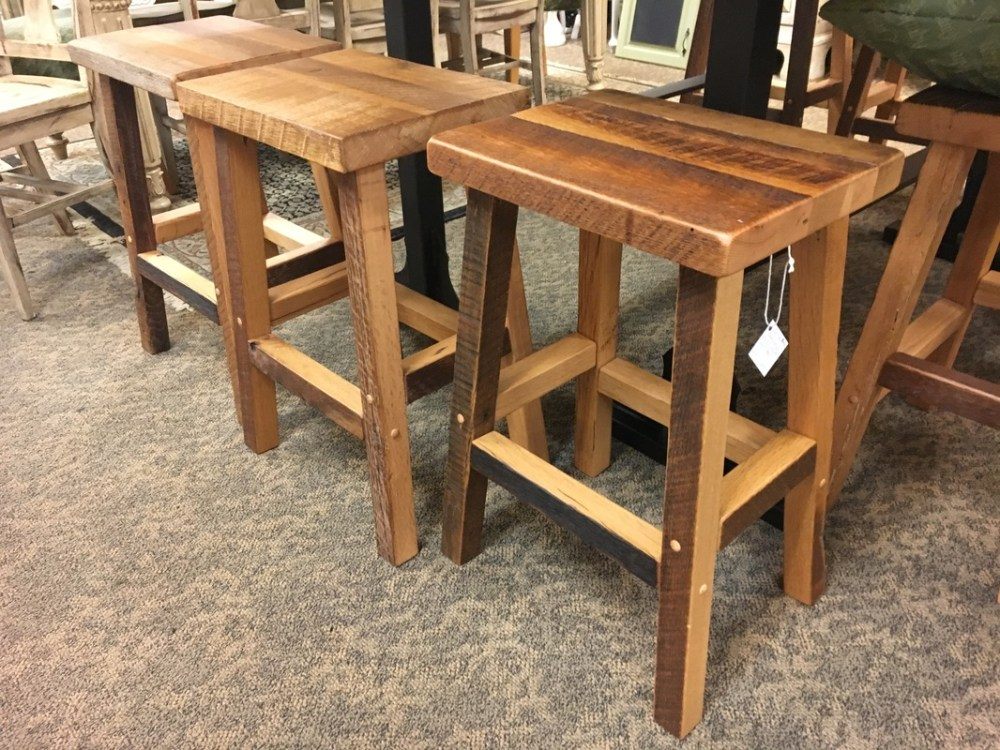 Amish Made Bar Stools