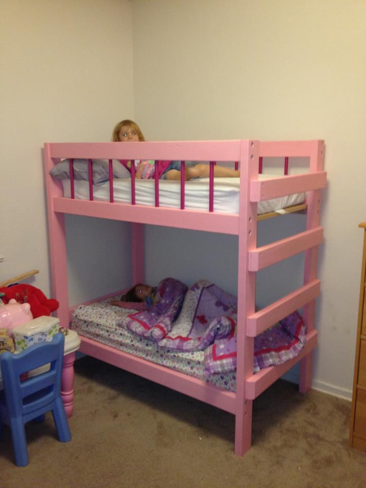 Ana White Toddler Bunk Bed