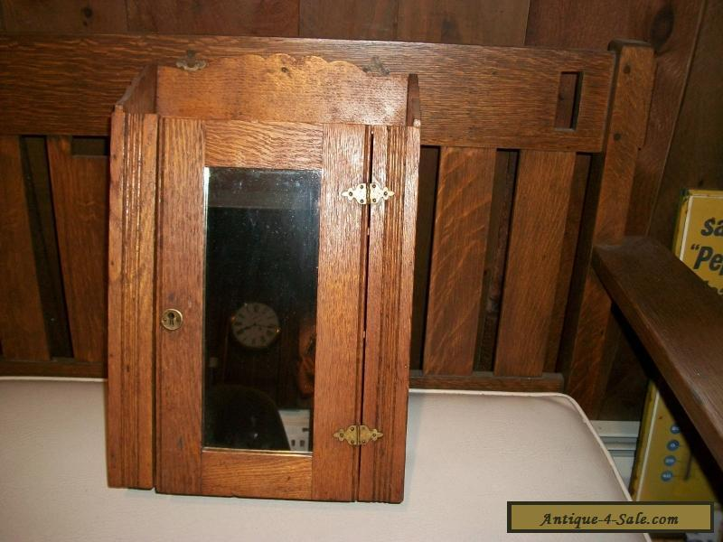 Antique Apothecary Medicine Cabinet
