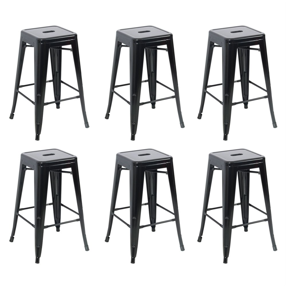 Antique Bar Stools Metal