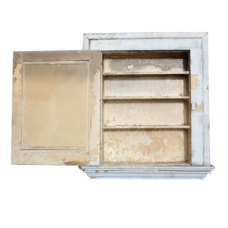 Antique Medicine Cabinet With Mirror For Sale