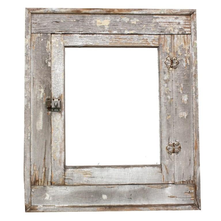 Antique Medicine Cabinet With Mirror