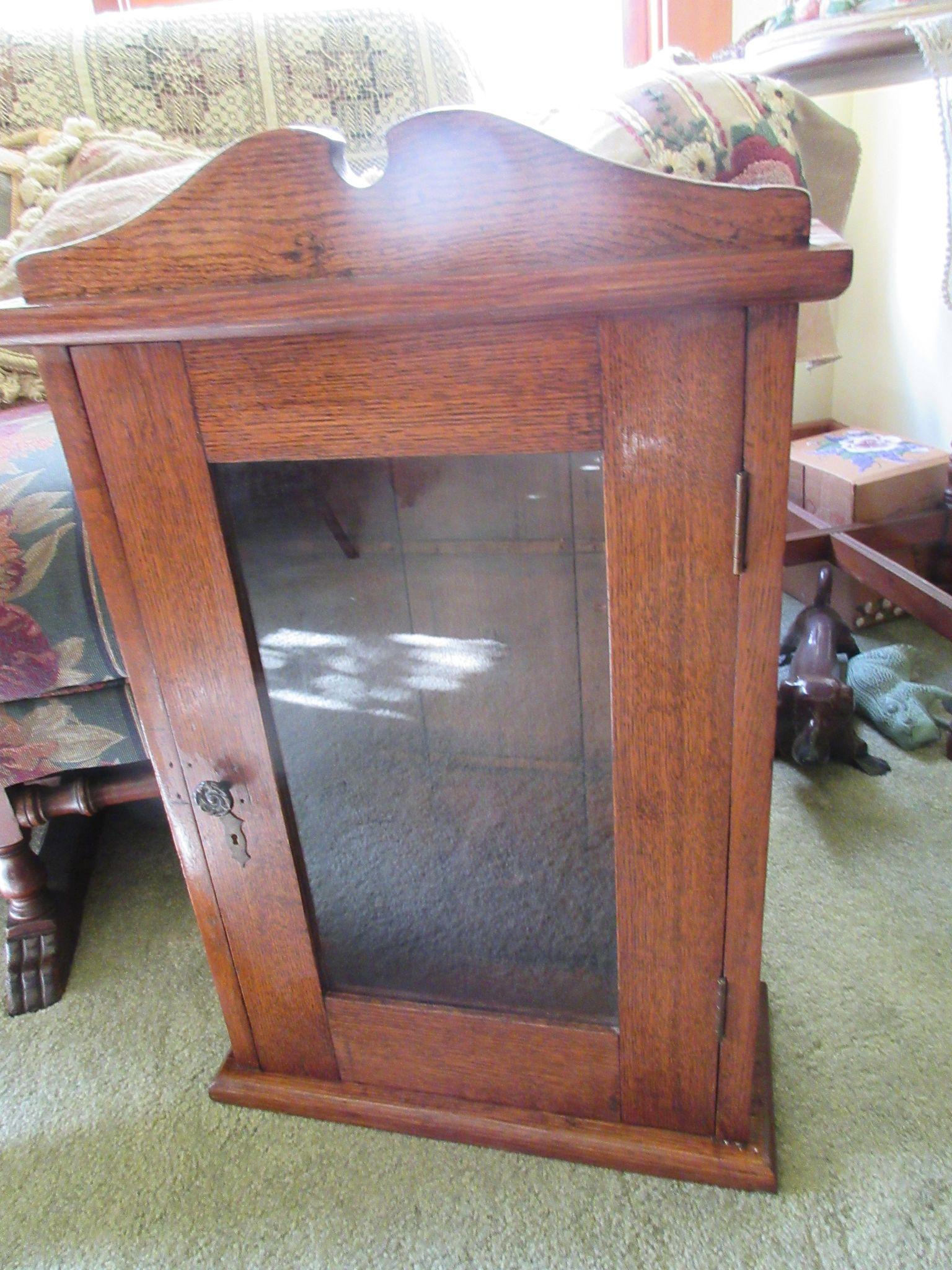 Antique Victorian Medicine Cabinet