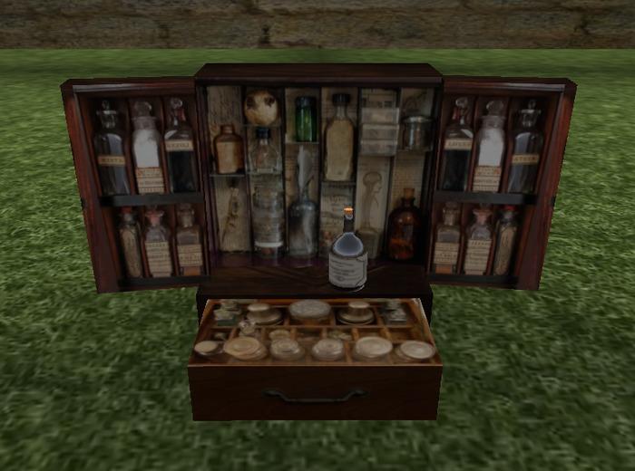 Apothecary Medicine Cabinet