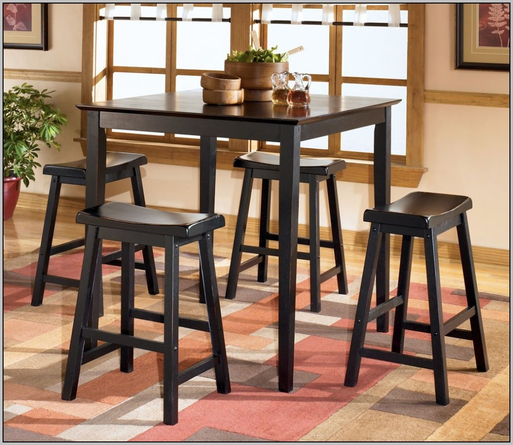 Ashley Furniture Bar Stools Black