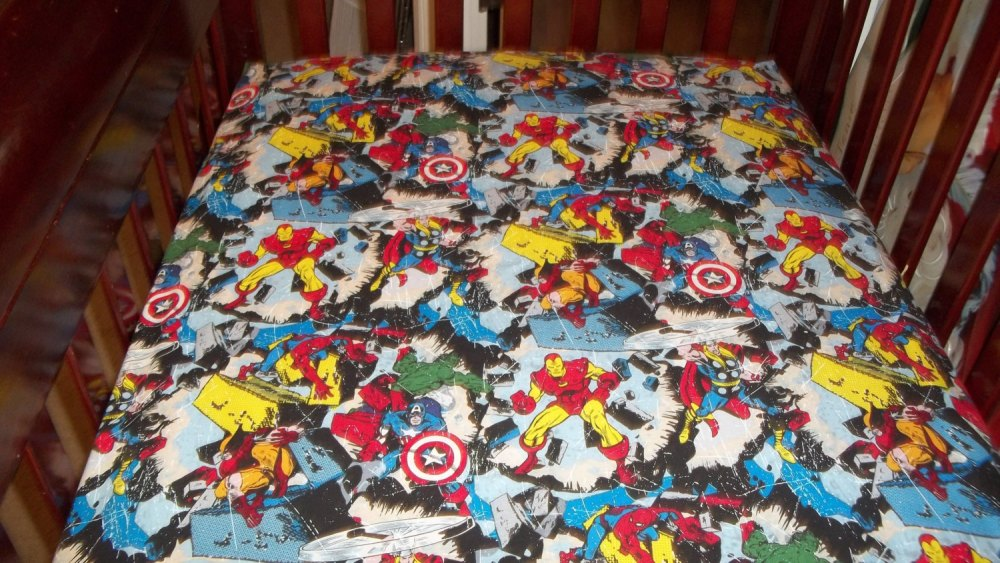 Avengers Toddler Bed Sheets