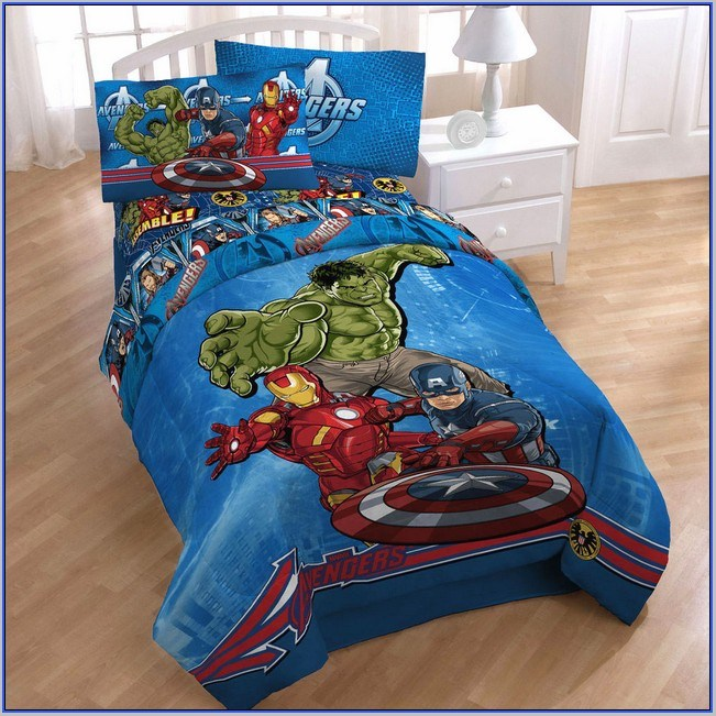 Avengers Toddler Bedding