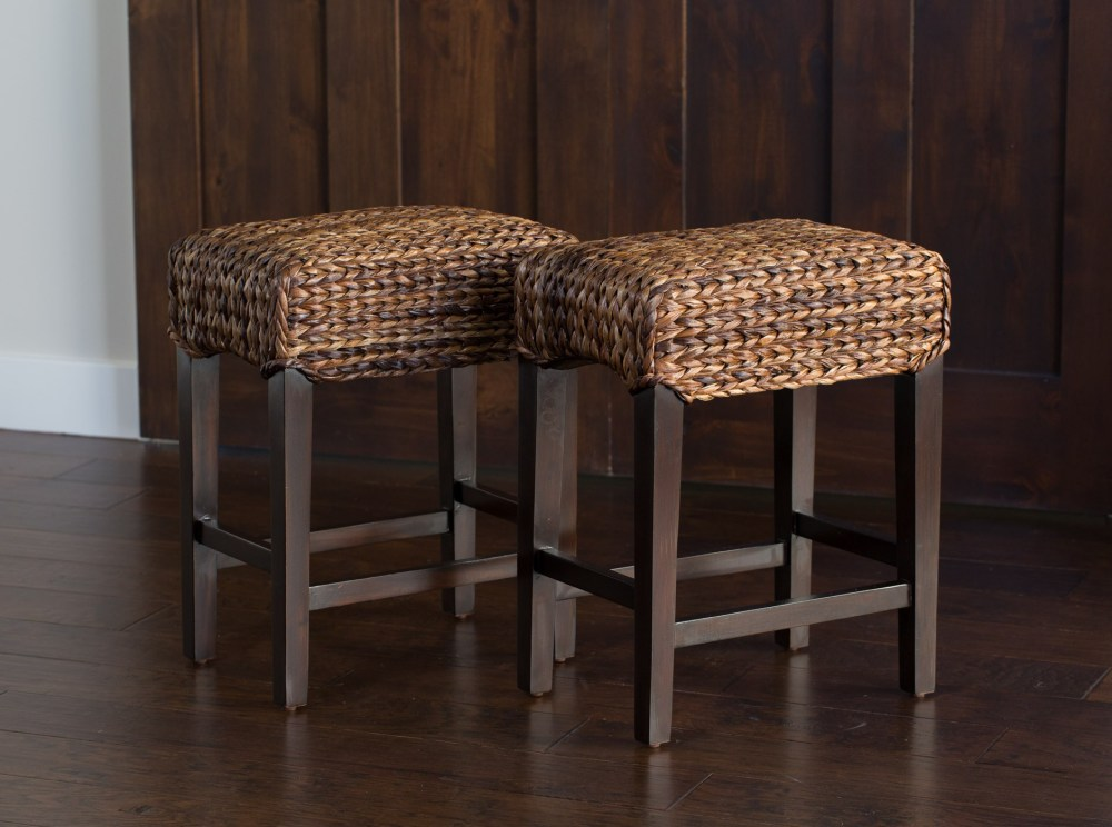 Backless Bar Stools 24 Inch