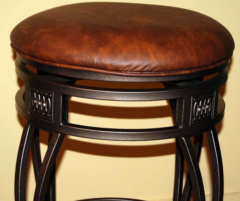 Backless Bar Stools Swivel