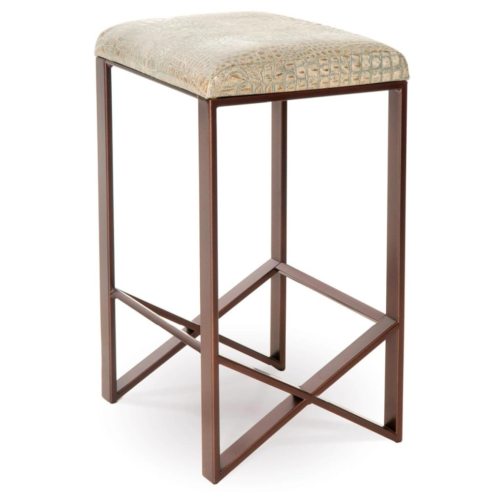 Backless Swivel Counter Height Bar Stools