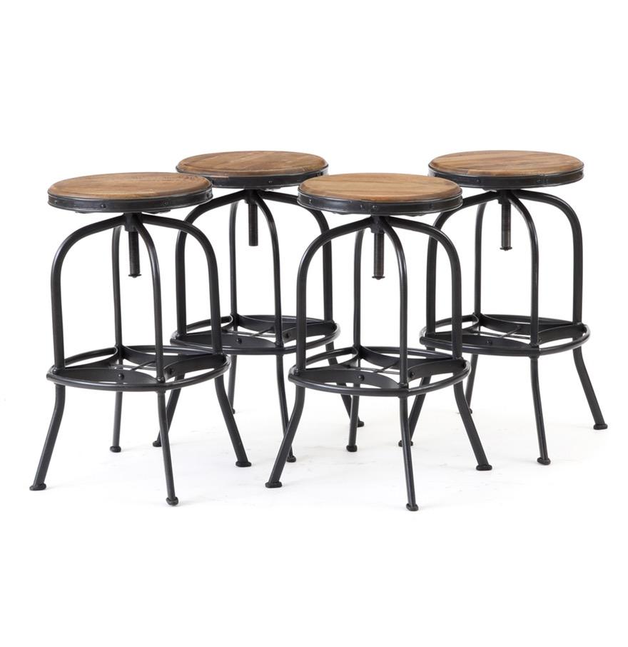 Ballard Designs Backless Bar Stools