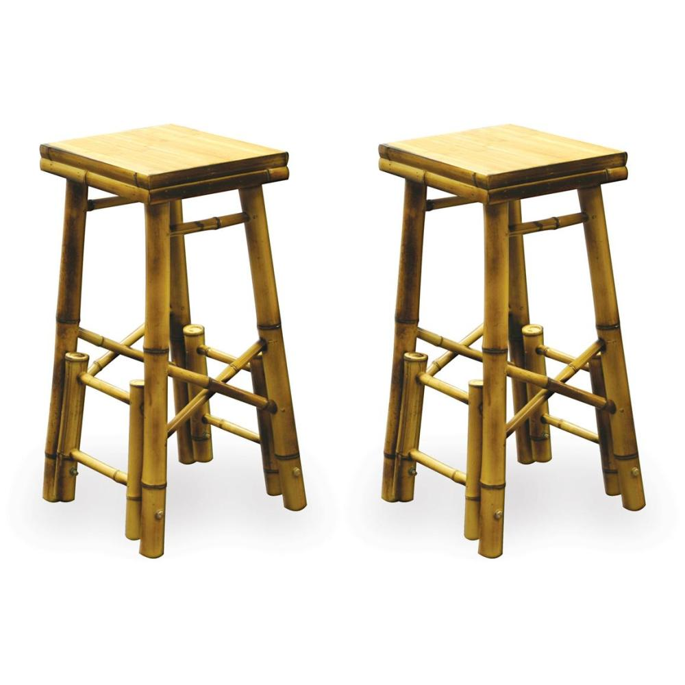 Bamboo Bar Stools
