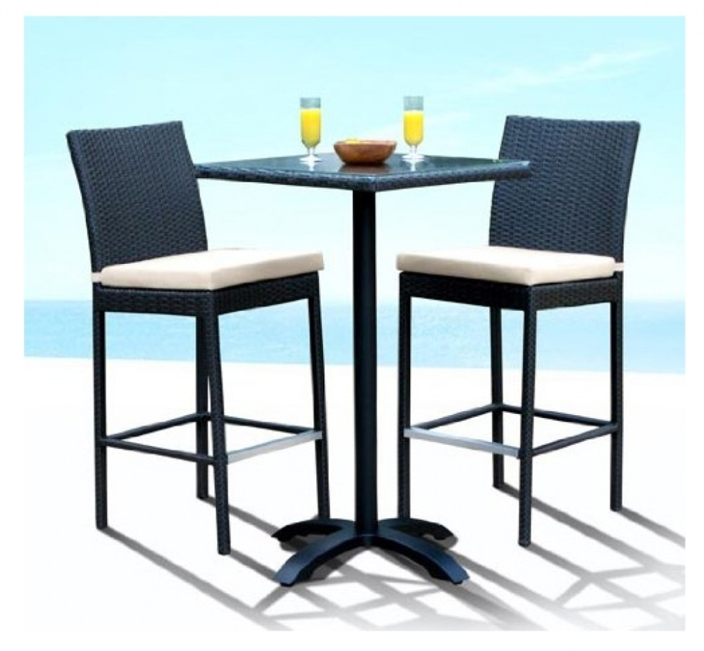 Bar And Stools Outdoor