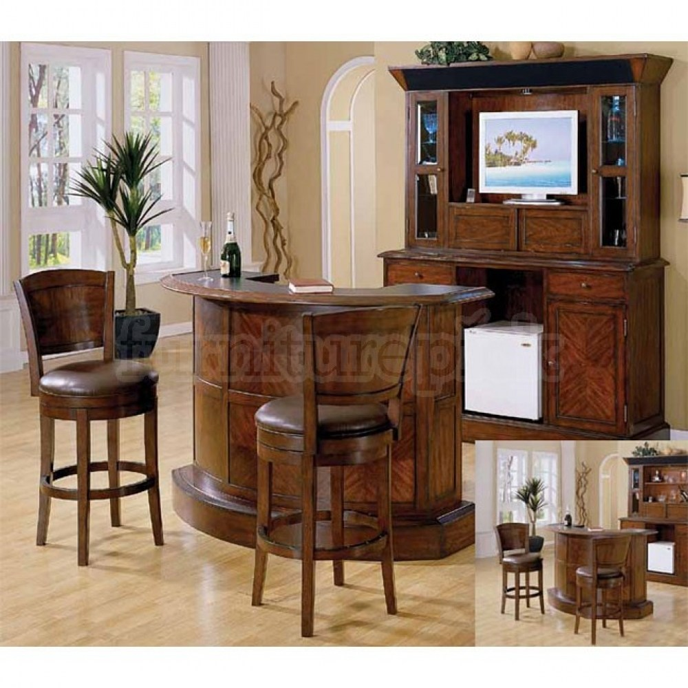 Bar And Stools Set For Sale