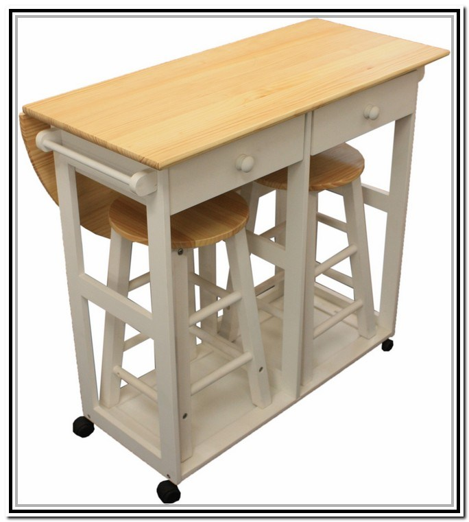 Bar Stool And Table Set