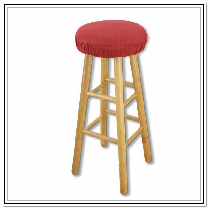 Bar Stool Cushions Round With Ties