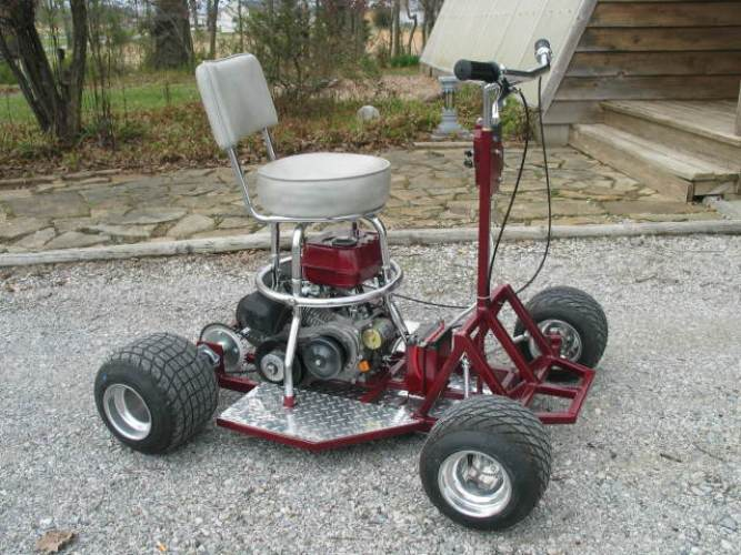 Bar Stool Go Kart Plans