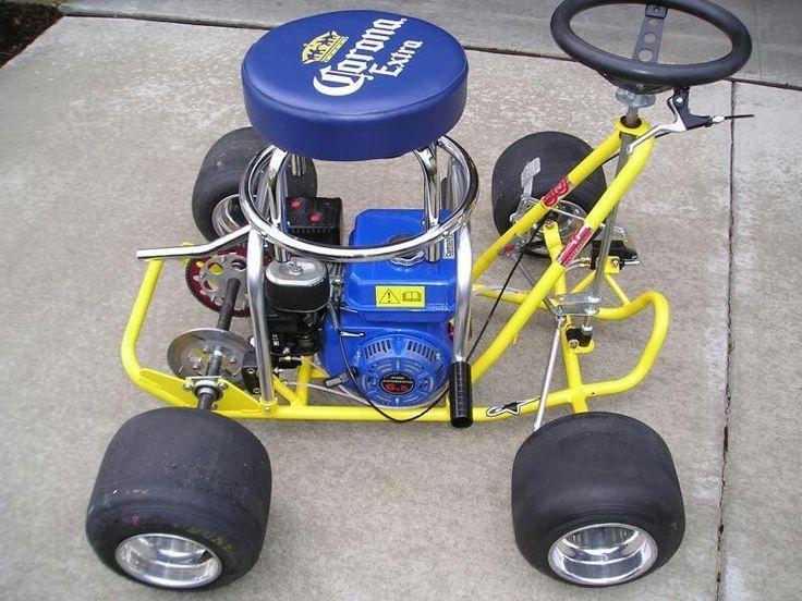 Bar Stool Go Kart