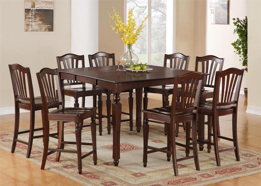 Bar Stool Height Dining Table