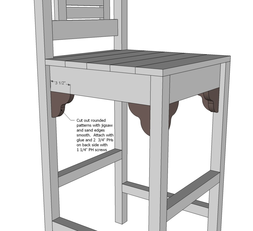 Bar Stool Plans American Woodworker