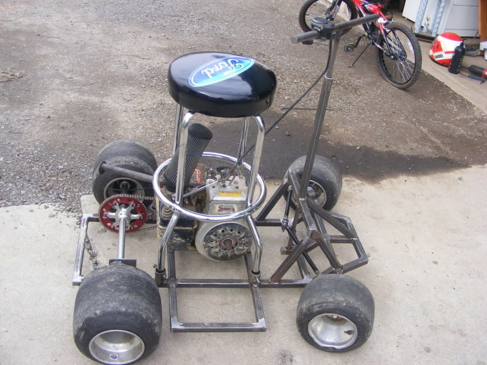Bar Stool Racer Frame Plans
