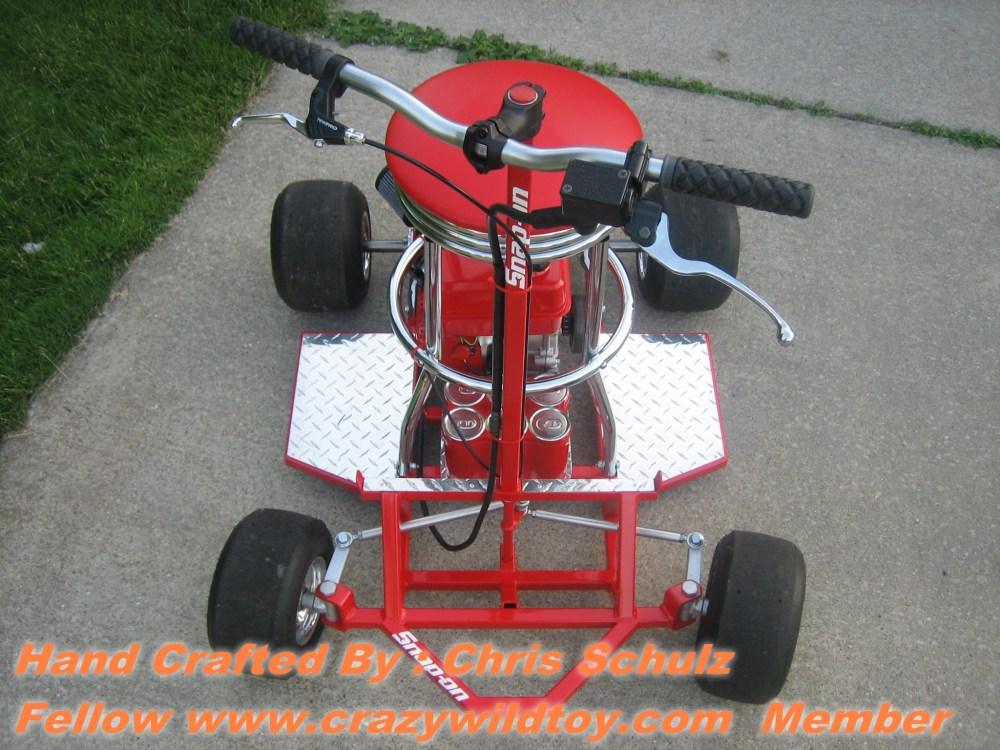 Bar Stool Racer Plans