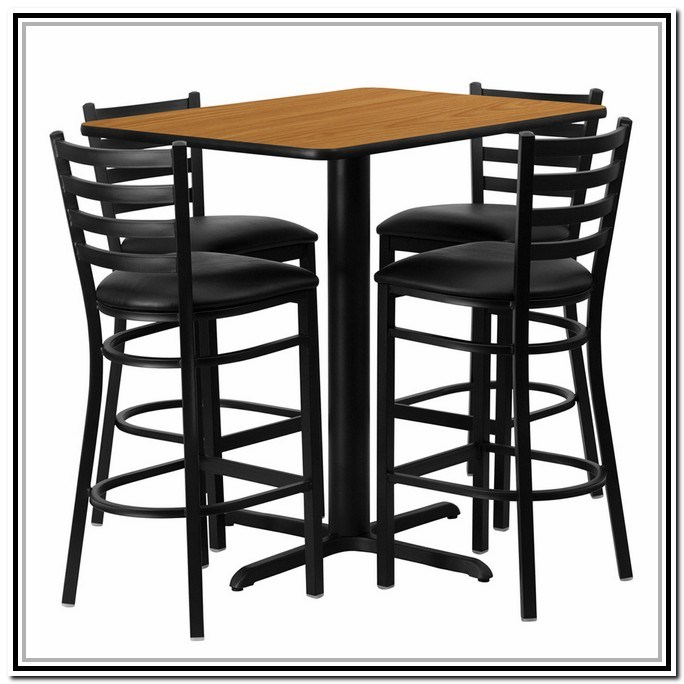 Bar Stool Set Of 2 With Table