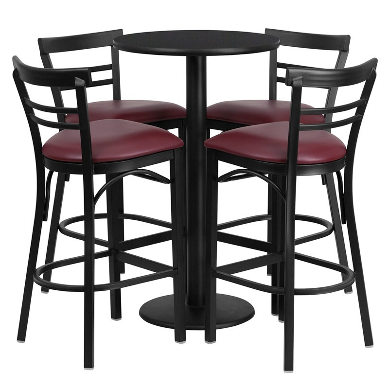 Bar Stool Table Set