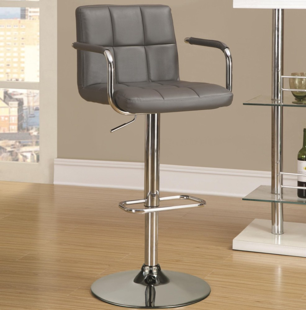 Bar Stools Dark Grey