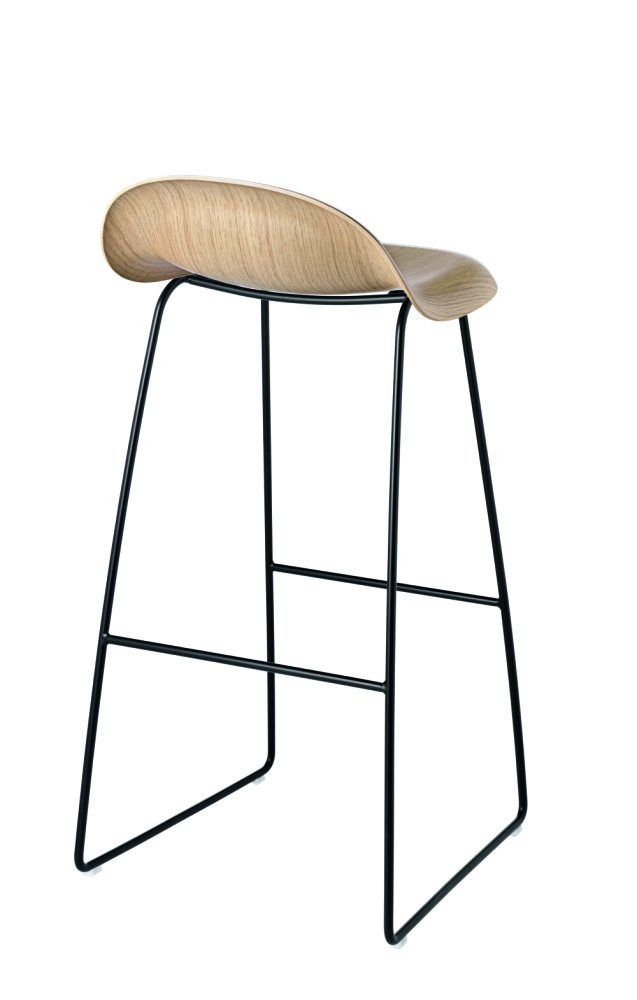 Bar Stools Grey Wood