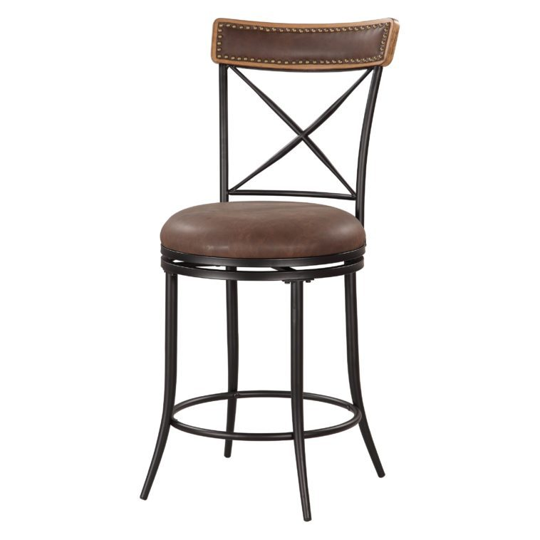 Bar Stools Metal And Leather