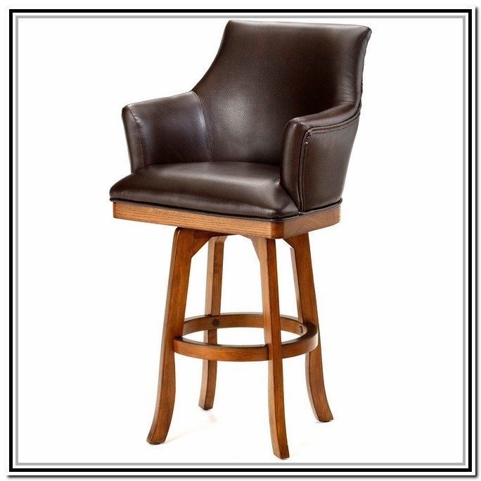 Bar Stools With Back And Swivel
