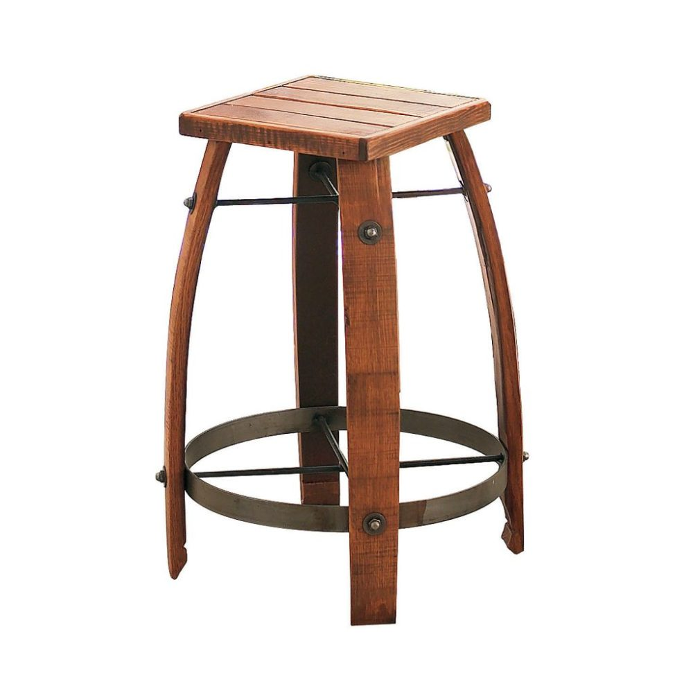 Bar Stools Wooden Swivel