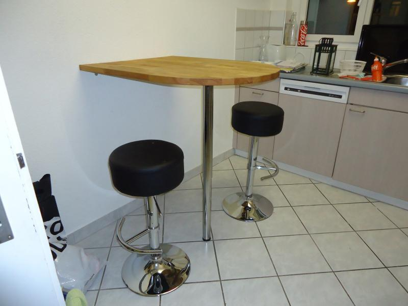 Bar Table With Stools For Kitchen